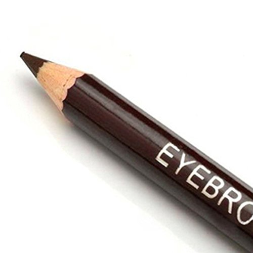 Crayon à sourcils étanche sourcils stylo avec pinceau maquillage 2-en-1 accessoires cosmétiques outil maquillage(Café léger)