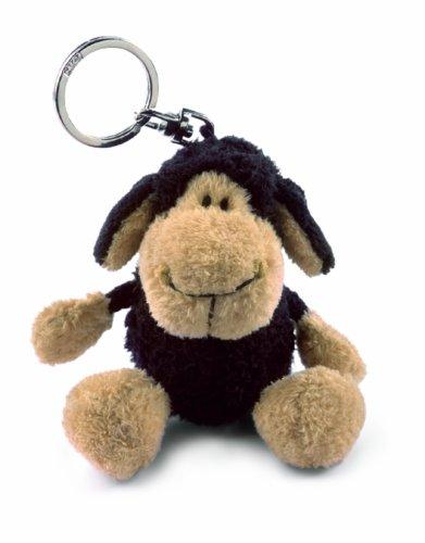 NICI 29220 - Schaf schwarz Schlüsselanhänger