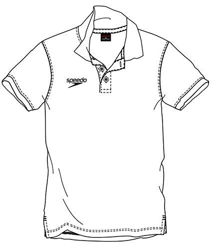 Speedo Polo Shirt, Herren XS Weiß (White)