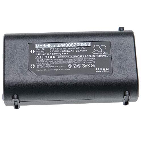 vhbw batería Compatible con Garmin GPSMap 276Cx Localizador GPS (6800mAh, 3.7V, Li-Ion)