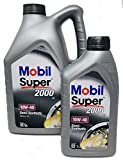 Aceite Lubricante Motor - Mobil Super 2000 X1 10W-40, Pack 6 LTS