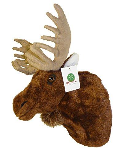 Adore 13' Yukon The Moose Plush Stuffed Animal Walltoy Wall Mount