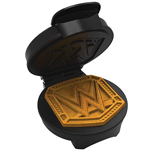 WWE Championship Belt Waffle Maker- Start Your Breakfast Like A Champion- Waffle Iron