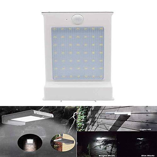 72LED Zonne-buiten Waterdichte IP65 Wandlamp, Platte Slimme Menselijk Lichaam Inductie Super Heldere 2200mah Lamp, Tuin Binnenplaats Verlichting (175 * 115 * 40 Mm)