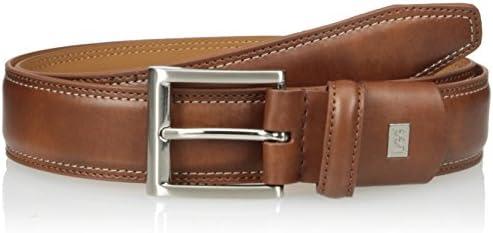 Lee mens Modern Stretch Tubular Leather Belt Belt