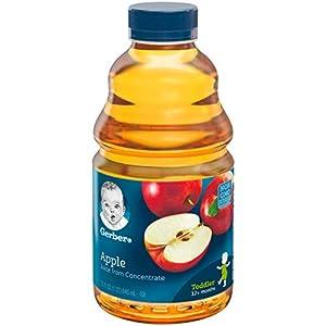 Gerber Nature Select Baby 100% Fruit Juice 32 Fl Oz (Pack of 2) (100% Apple Juice) |