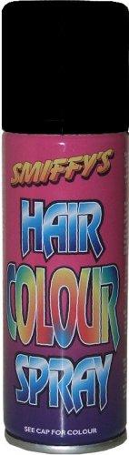 Smiffys Farbiges Haarspray–Schwarz.