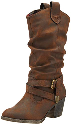 Rocket Dog Sidestep, Botas Camperas Mujer, Marrón (Brown Graham), 41 EU