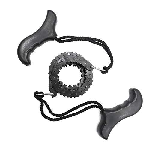 Kaijia Bolsa portátil de la herramienta de la mano del bolsillo de la motosierra de la emergencia