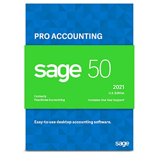 Sage 50 Pro Accounting 2021 U.S. Business Accounting Software