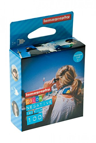 Lomography negativo color 100 120 (Pack de 3)