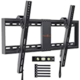 "Soporte TV De Pared Articulado Inclinable – Soporte De Pared TV para Pantallas De 37-82"" TV, hasta 60kg VESA 600x400mm, Cable HDMI Y Nivel De Burbuja Incluidos para Facilitar La Instalación"