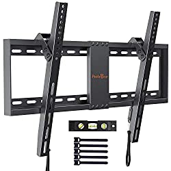 UNIVERSAL TV BRACKET - Fits most 37''- 82'' flat &curved TVs weighing up to 60kg. Compatible VESA holes:600x400/400x400/400x300/400x200/300x300/300x200/200x200/200x100mm. Please confirm the Vesa, Weight, size specification of your TV before purchasin...