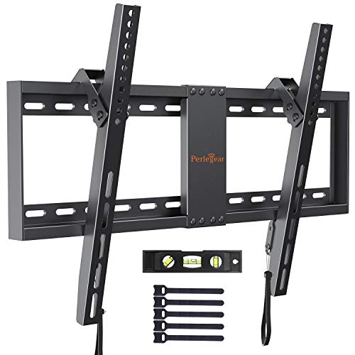 "Soporte TV De Pared Articulado Inclinable – Soporte De Pared TV para Pantallas De 37-82"" TV, hasta 60kg VESA 600x400mm, Nivel De Burbuja Incluidos para Facilitar La Instalación"