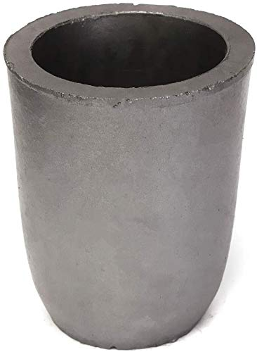 #12- Clay Graphite Crucibles Foundry Cup Furnace Torch Melting Casting Refining Graphite Crucibles for Copper Gold Silver Aluminum