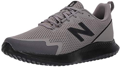 New Balance Men's NB Ryval Run V1 Shoe, Castlerock/Black, 7 X-Wide