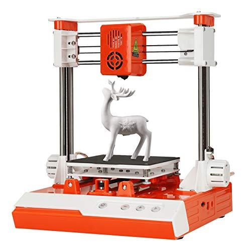 3Dプリンター 3Dプリンタ 本体 金属製 高精度 小型 家庭用 ミニ3Dプリンター PLA/TPU材料が可能 組立簡単 静音設計 子供/初心者/学生教育に適し 日本語説明書
