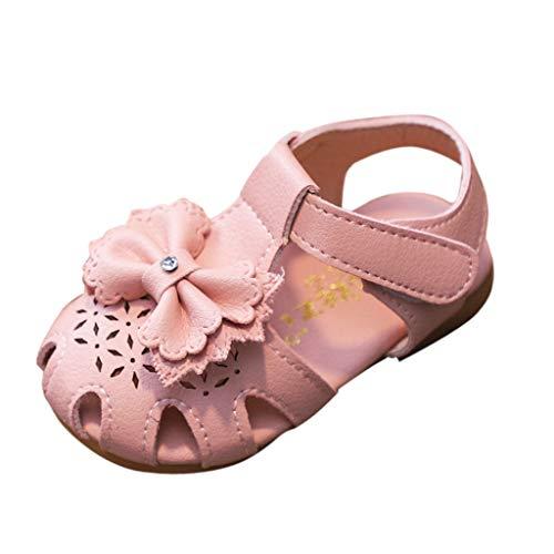 Amlaiworld Babyschuhe, Kleinkind Mädchen hohl Bowknot Sandalen beleuchteten weichen Sohlen Prinzessin Schuhe