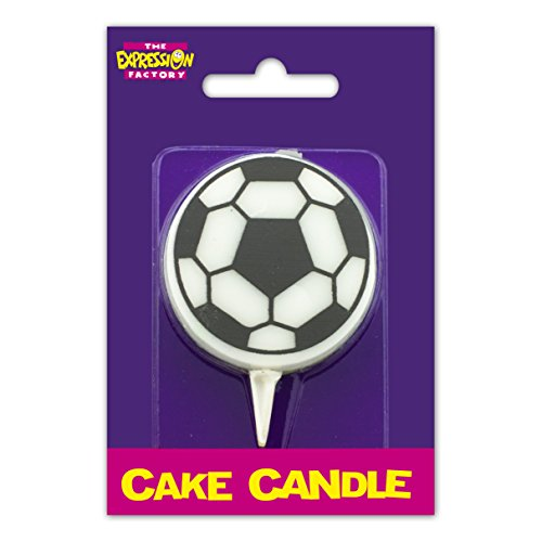 Expression Factory Football Birthday Cake Candle