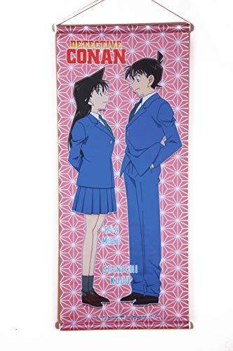 Detektiv Conan Wallscroll Stoff-Poster Shinichi & Ran 68x28cm Wandbild auf Stoff ,...