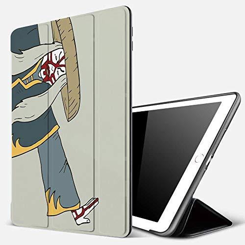Cover per iPad 10.2 2019, Kabuki Mask Decoration, Old Japanese Person Performing Arts Far Eastern Culture E,Ultra Sottile Leggero Pelle PU Stand Flip Folio Custodia Funzione di Sonno Smart Case