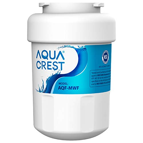 AQUACREST MWF Fridge Water Filter, Compatible with GE SmartWater MWF, MWFA, MWFP, GWF, GWFA, GWF01, 101057A, 101300A, Sears/Kenmore 9991, 46-9991, 469991, 9996, 9905, WF07