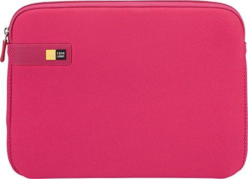 Case Logic LAPS Notebook Hülle für 17,3 Zoll Laptops (ultraschmales Sleeve, ImpactFoam Schaumpolsterung für Rundumschutz, Laptop Tasche ideal für Chromebook oder Ultrabook), Pink