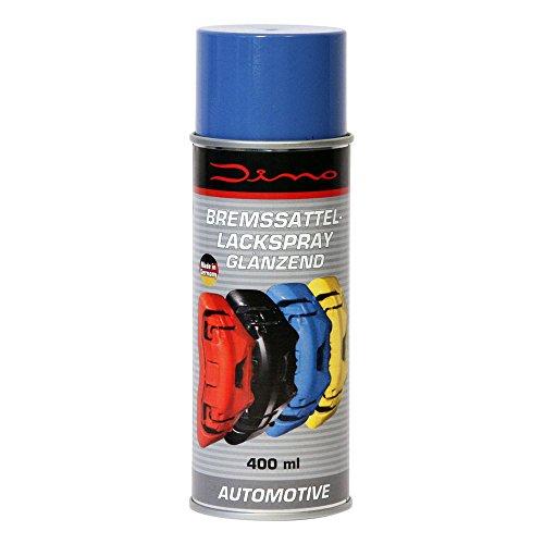 Dino Bremssattellackspray Bremssattel Lack Spray Bremsenlack Bremssattelfarbe Bremssattel Farbe 1-K Lackspray 400ml blau