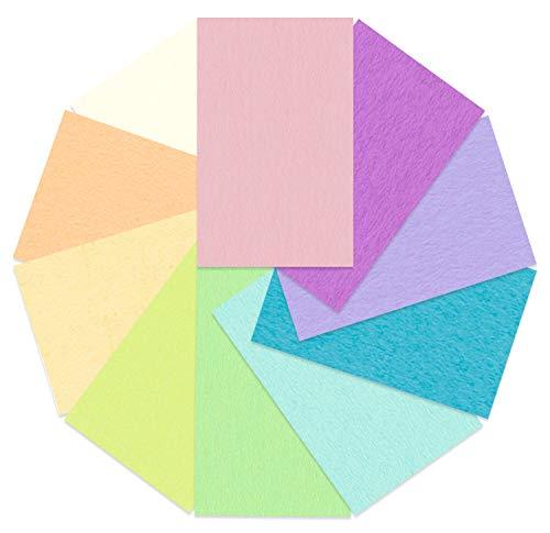 Ursus 2314699 - Tonzeichenpapier Pastell, DIN A4, 130 g/qm, 100 Blatt in 10 verschiedenen Pastellfarben, durchgefärbt, aus Frischzellulose, hohe Farbbrillanz und Lichtbeständigkeit, ideal zum Basteln