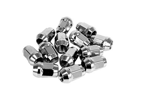 16 Stück Radmuttern M14x2,0 geschlossen SW19 / Alufelgen / Verzinkt / Kebu / Felgen / Kegel / PKW / Schlüsselweite 19 / FORD / Transit /