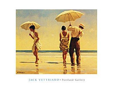 Germanposters Jack Vettriano Mad Dogs Poster Kunstdruck