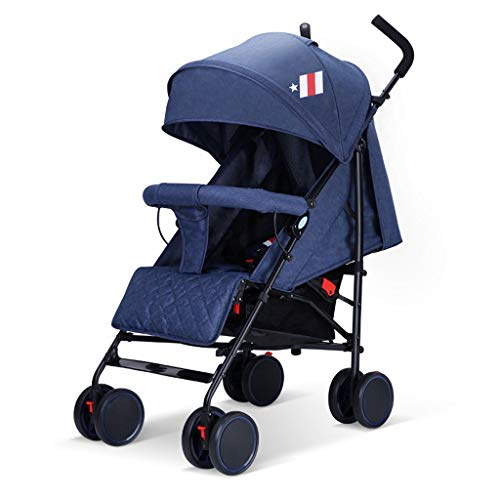 Best Deals! KHUY Strollers,Lightweight Stroller with Extra Storage Basket, Compact Fold for Storag...