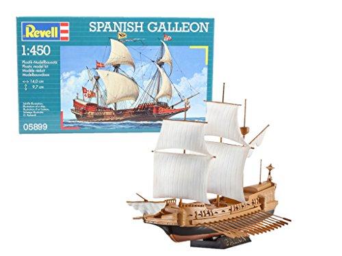 Revell Spanish Galleon, Kit de Modelo, 1: 450 Escala, (05899