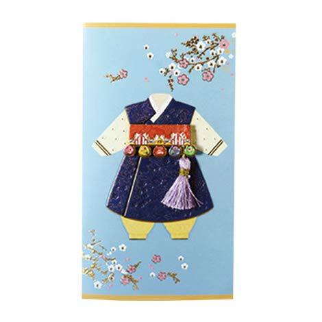 韓国 メッセージカード (韓服)パジチョゴリ5■messagecard-ft304-5-s【ギフト】【お土産】