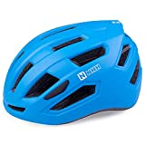 NHH Adult Bike Helmet - CPSC-Compliant Bicycle Cycling Helmet Lightweight Breathable and Adjustable Helmet for Men and Women Commuters and Road Cycling (Matte Blue)