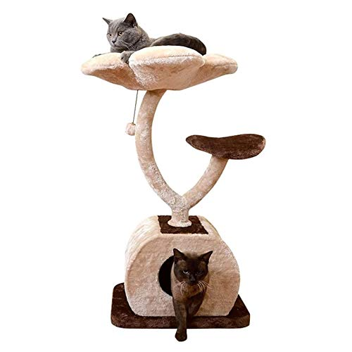 CHENMAO Cat Stiming Frame Three-Tier Cat Marco Cat Rasguño Post Cat House Cat Toy