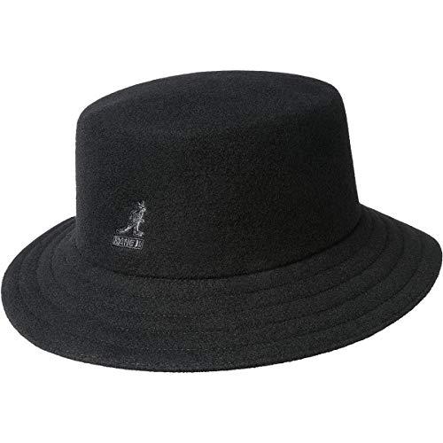 Kangol Unisex Hut Wool Rap Bucket schwarz, Größe:L