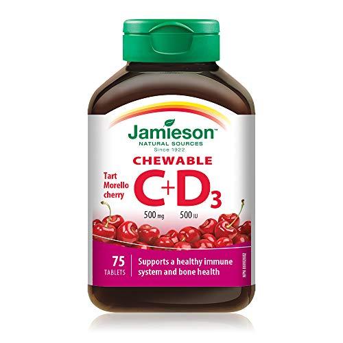 Jamieson Vitamina C+D3 75 Cpr - 100 Gr