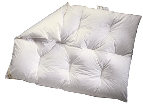 ARO Artländer 801000 Suisse Lit bébé 90 % Duvet polonais Blanc 80 x 100 cm