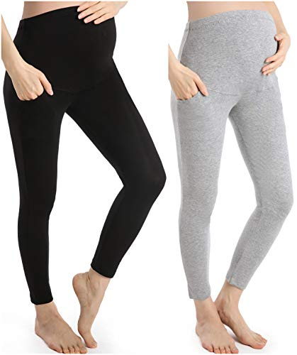Ferrieswheel Story Hosen Schwangerschaft Yoga Umstandsleggings Damen Leggings Schwangerschaft 7/8