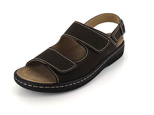 Belvida Sandale Größe 46, Farbe: Moro