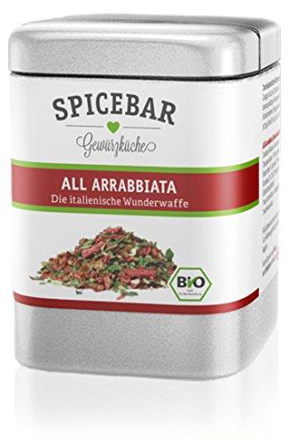 Spicebar All Arrabbiata, Gewürzmischung original italienisch & pikant, Bio (1 x 70g)