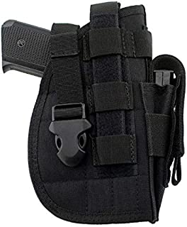 OptiFeet Tactical Pistol/Gun Molle Belt Holster, Fits Medium Compact Subcompact Handguns and Full Size Pistols