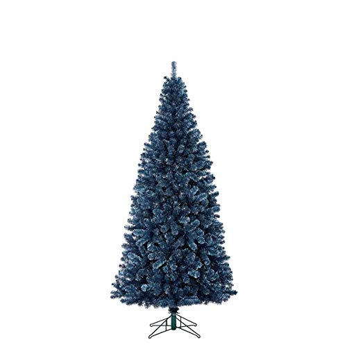 Black Box kunstkerstboom Sitka donkerblauw 185 cm