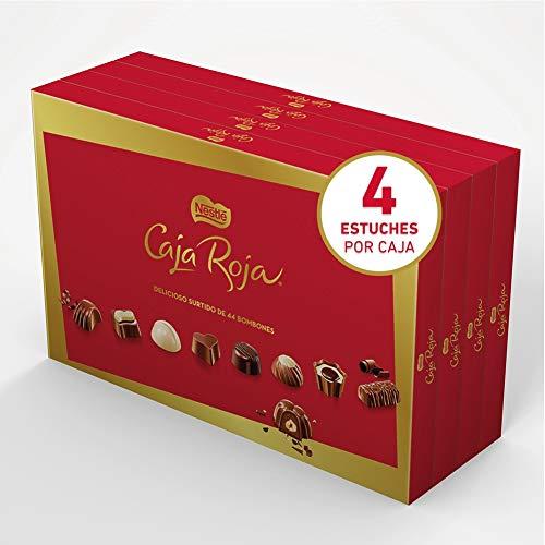 Nestl - Caja Roja - Bombones De Chocolate 400 gr - [pack de 4] - (Total 1600 grams)
