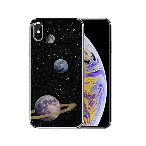 Colorido espacio para Galaxy universo Funda de silicona para iPhone 12 11Pro Max 11 XR XS Max X 8 7 6 6S Plus 5 5S SE 2020 Cover-T20050906-07.jpg-Para iPhone XS MAX
