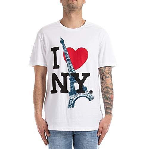 Eleven Paris Herren T-Shirt, Weiß XL