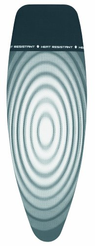 Brabantia Tital Oval Ironing Board Cover with Parking Zone, L 135 x W 45 cm, Size D