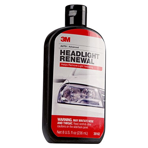 3M Headlight Renewal, 39162, 8 oz