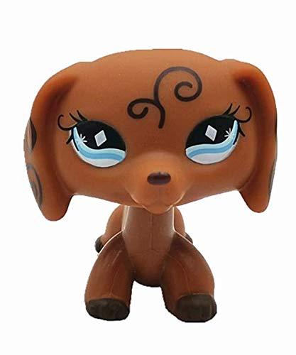 Cute Animal Pet Dog Collection Vine Child Dog Figure Toy